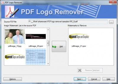 Remove Watermark from PDF 1.0.43 screenshot