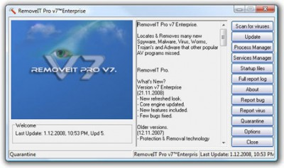 RemoveIT Pro Enterprise 16.26 screenshot