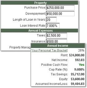 Rental Property Investment Calculator 2.2 screenshot