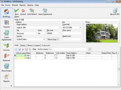RentBoss Single User 4.40 screenshot