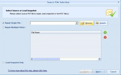 Repair PST 15.9 screenshot