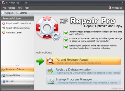 Repair XP - Vista Pro 2014.416 screenshot
