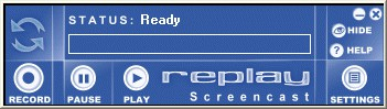 Replay Screencast 1.21 screenshot