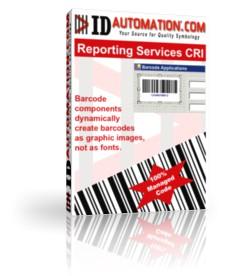 Reporting Services Barcode CRI 11.10 screenshot