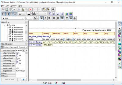 Reportizer 6.2.0.41 screenshot