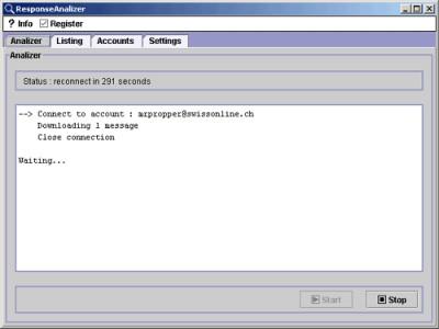ResponseAnalizer 9.3 screenshot