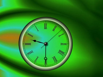 Reverse Clock ScreenSaver 2 3 screenshot