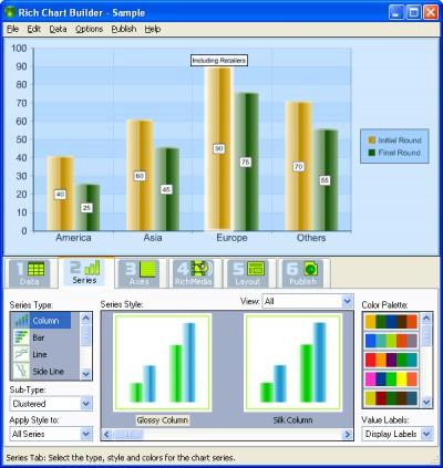Rich Chart Builder 1.0 screenshot