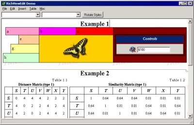 RichView (Delphi version) 13.0.1 screenshot