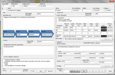 Risk Processor Corporate 2.1.1 screenshot
