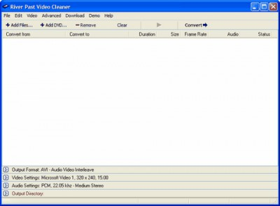 River Past Video Cleaner 7.8 screenshot