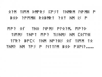 Roberts Runes Font 6.0 screenshot