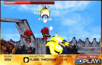 Robo Slug 1.0 screenshot