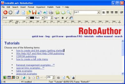 RoboAuthor 2016.7.8 screenshot