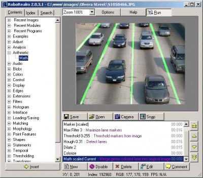 RoboRealm 2.84.0 screenshot