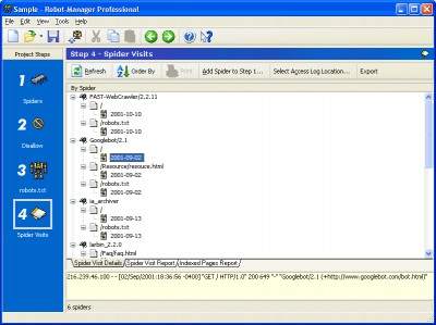 Robot-Manager 3.1 screenshot