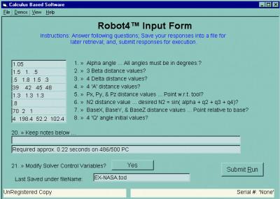 Robot4 6.210 screenshot