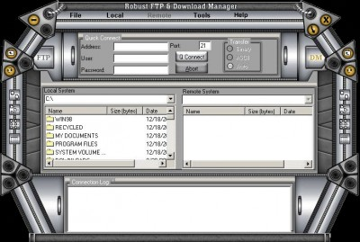 Robust FTP and Download Manager 7.3.3.3000 screenshot