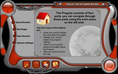 Robust Internet Speed Booster 7.3.3.3000 screenshot