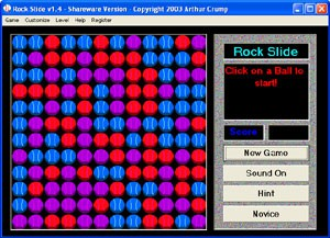 Rock Slide 1.8 screenshot