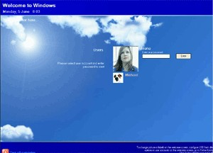 Rohos Welcome 1.6 screenshot