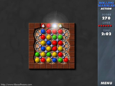 Rolling Marbles 1.02 screenshot
