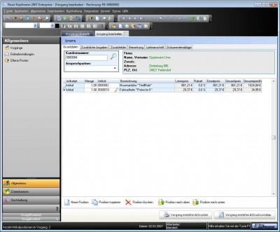 Rowi-Kaufmann Warenwirtschaftssystem 1.5 screenshot