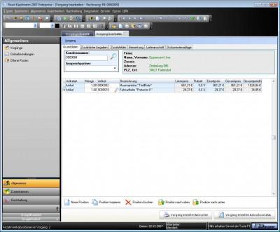 Rowi-Kaufmann Warenwirtschaftssystem 2.1 screenshot