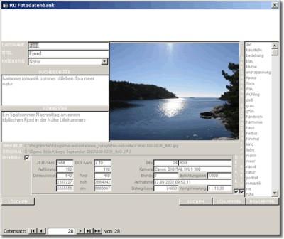 RU Fotografen-Webseite 1.0.0 screenshot