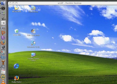 Run Windows On Mac OS X 2011.1105 screenshot