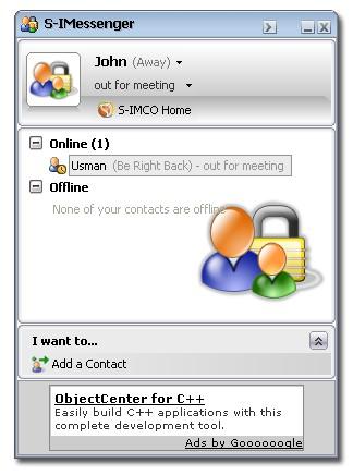 S-IMessenger 1.0 screenshot