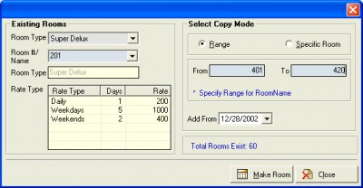 Sai Soft Hotel Catering Software 1.0 screenshot