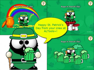 Saint Patricks Day Desktop Wallpapers Series-7 screenshot