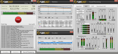 SAM Cast Pro 2020.3 screenshot