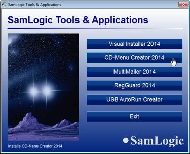 SamLogic CD-Menu Creator 8.5.4 screenshot