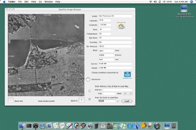Satellite Image Browser 2.0 screenshot