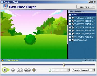 Save Flash Player 1.0 screenshot