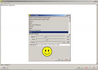 Sayz Me 0.51 screenshot