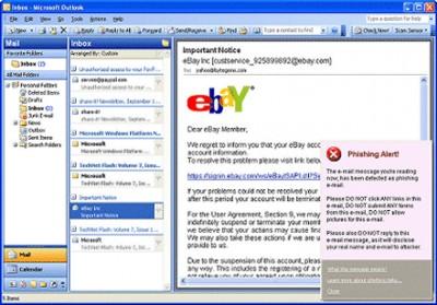 Scam Sensor for Outlook 2.0 screenshot