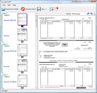 Scan To PDF Network Scanner OCR Solution 4.1.4.0 screenshot