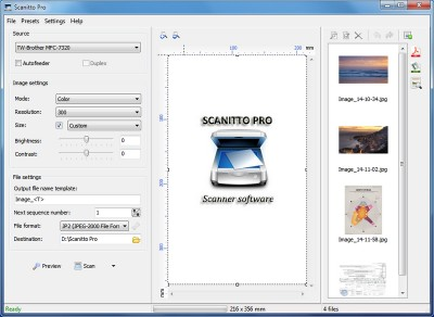 Scanitto Pro 3.19 screenshot