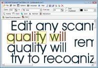 Scanned Text Editor 1.0 screenshot