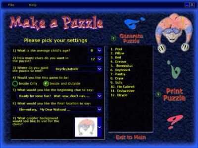 Scavenger Hunt Clues Riddle Me 1.99 screenshot