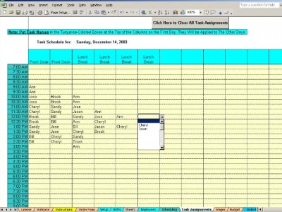Schedule Daily Shifts and Tasks for Your Employees 3.6 screenshot