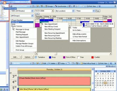 Schedules4Team 3.01 screenshot