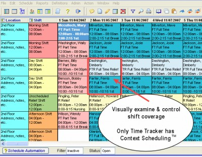Scheduling Software by Asgard 5.1 screenshot