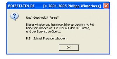 schlaegerei.de windowScherz 4.00 screenshot