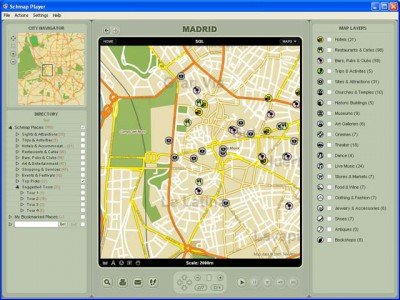 Schmap Europe 2.0 screenshot