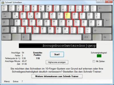 Schnell Schreiben 4.0.3 screenshot