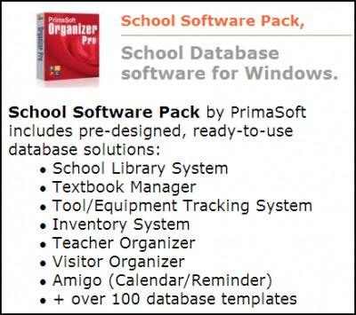 School Software Pack Pro 3.2b screenshot